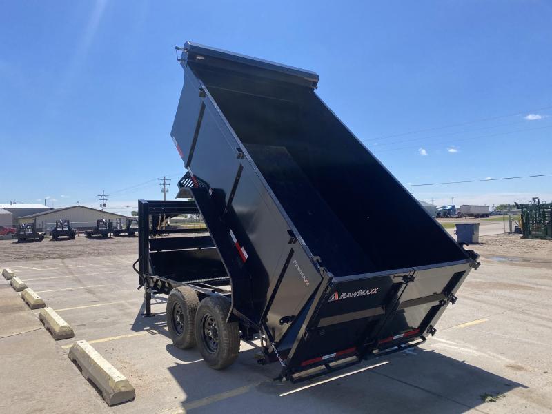 """2022 RawMaxx 12' x 83"""" Dump Trailer"""