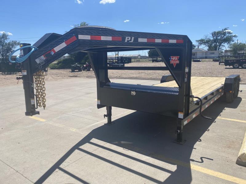 "2021 PJ 24' x 6"" Channel Equipment Trailer"