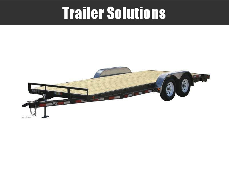 "2021 PJ 20' x 5"" Channel Carhauler Trailer"