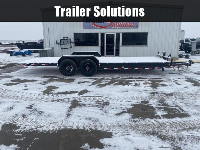 "2021 PJ 22' HD Equipment Tilt 6"" Channel Trailer"