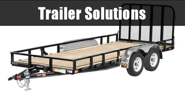 "2021 PJ 22' x 83"" Tandem Axle Channel Utility Trailer"