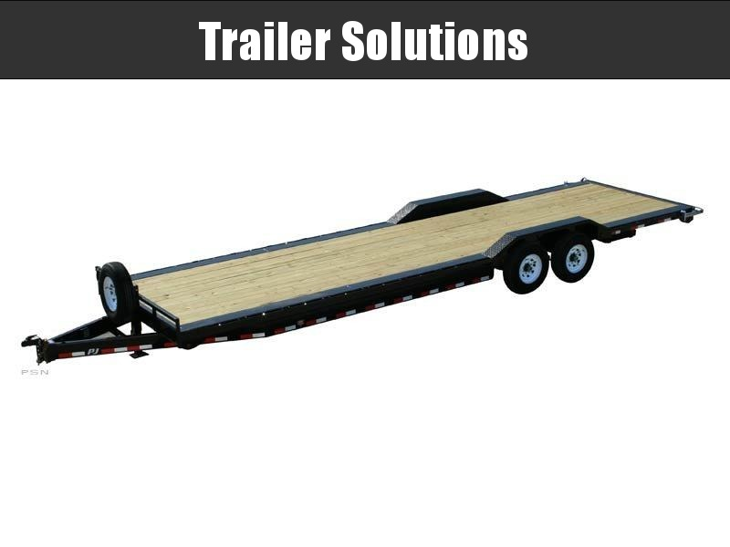 "2021 PJ26' x 8"" Channel Super Wide Trailer"