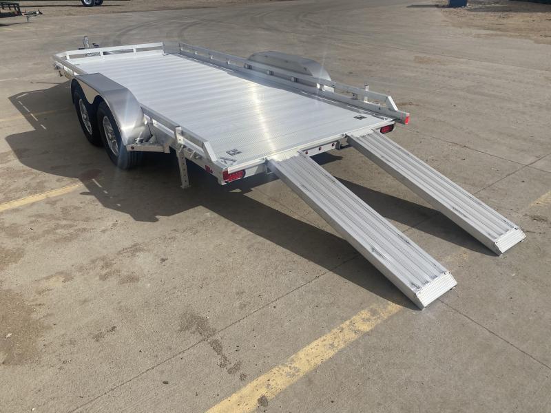 2022 Aluma 16 x 78 Tandem Axle Utility Trailer