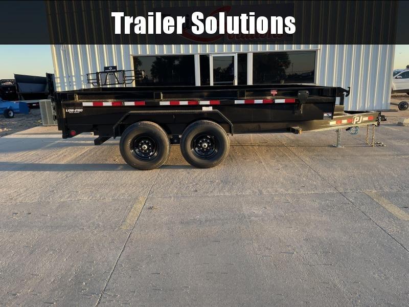 """2022 PJ 14' x 83"""" Low Pro Dump Trailer (DG)"""