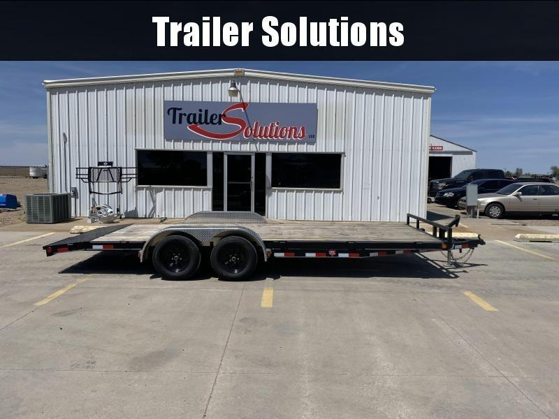 "2020 PJ 20' x 5"" Channel Carhauler Trailer"
