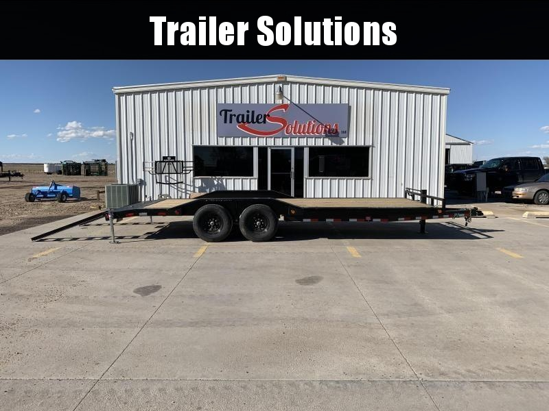 "2021 PJ 22' x 6"" Channel Super Wide Trailer"