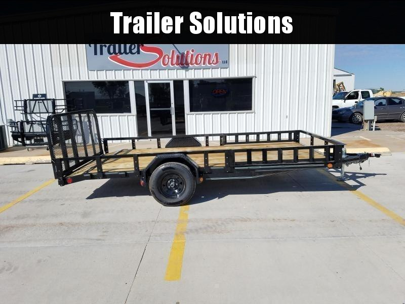"2021 PJ 14' x 83"" Single Axle Channel Utility Trailer"