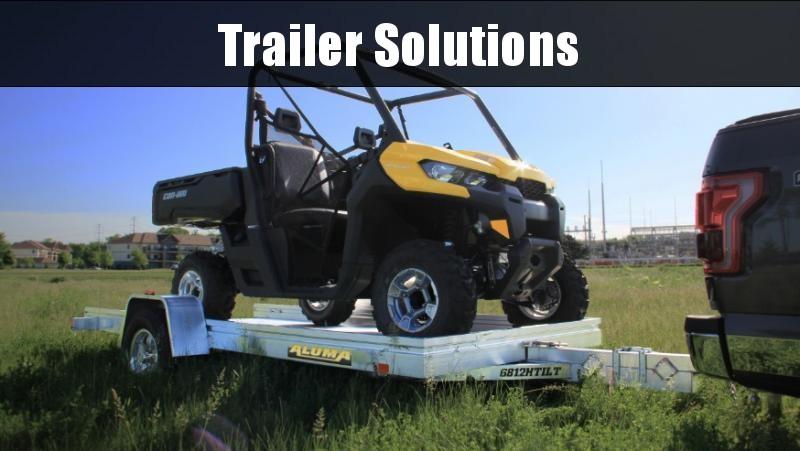 "2022 Aluma 10' x 68"" Single Axle Heavy Tilt Trailer"