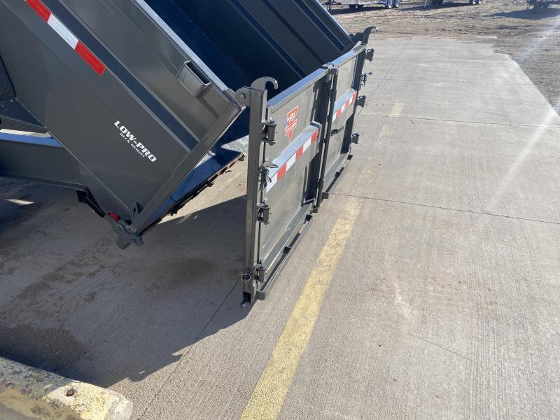 2021 PJ 16' HD Low Pro Dump Trailer