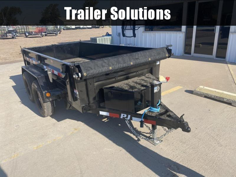 "2022 PJ 10' x 83""  Utility Dump Trailer"