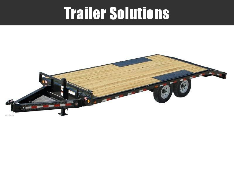 "2021 PJ 22' x 8"" I-Beam Deck over Trailer"