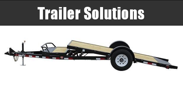 2021 PJ 16' Single Axle HD Tilt Trailer