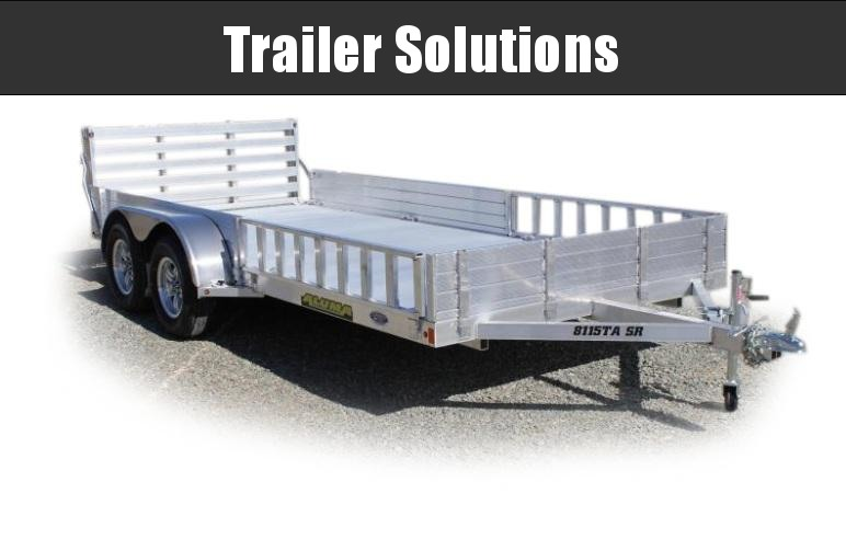 2022 Aluma 15 x 81Tandem Utility Trailer