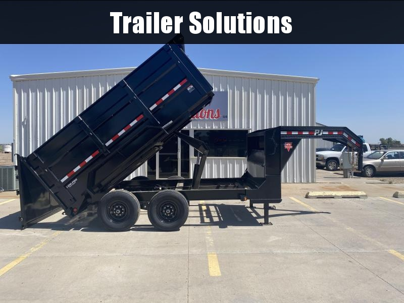 "2020 PJ 12' x 83"" Low Pro High Side Dump Trailer"
