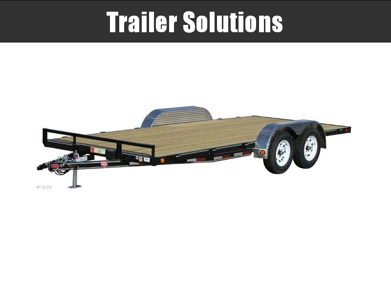 "2021 PJ 18' x 83"" with 4"" Channel Carhauler Trailer"