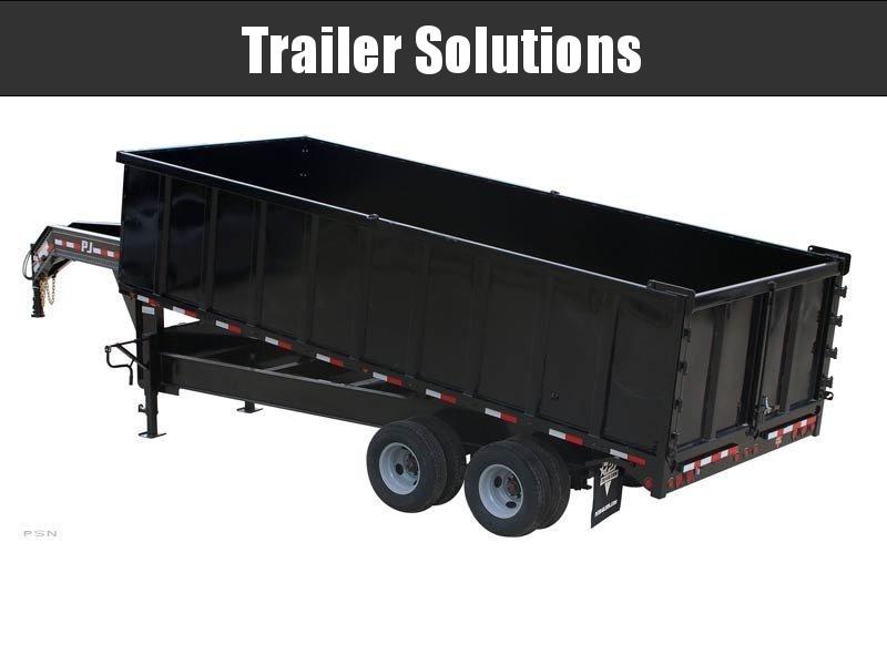 2021 PJ 20' Tandem Dual Dump Trailer