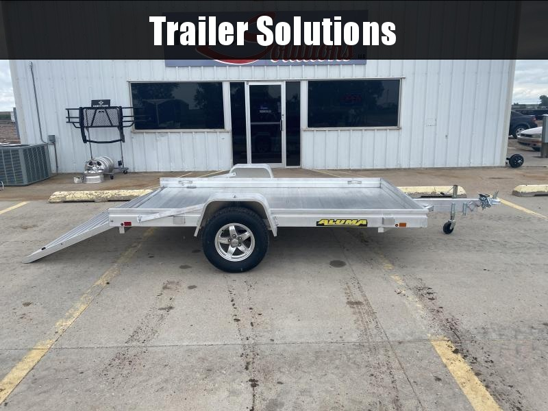 """2021 Aluma 10' x 72"""" Utility Trailer"""