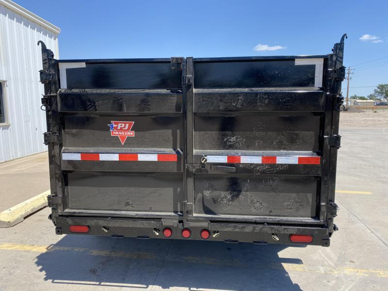 """2021 PJ 12' x 83"""" Low Pro High Side Dump Trailer"""
