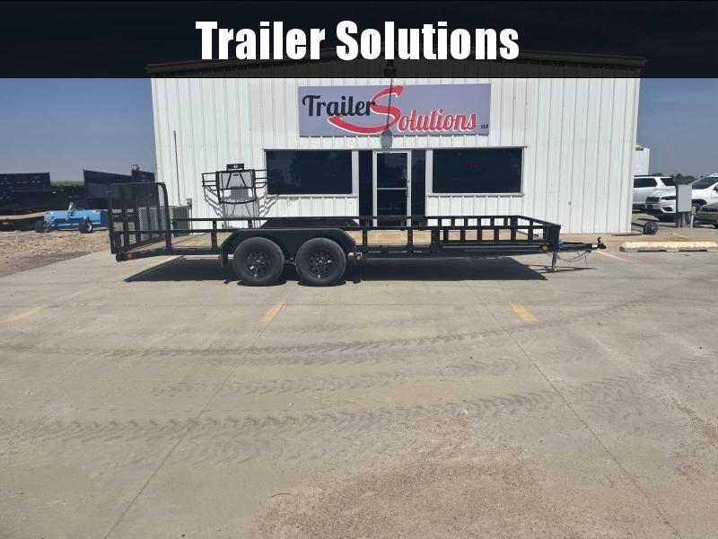"2022 PJ 20' x 83"" Tndm Axle Channel Utility Trailer"