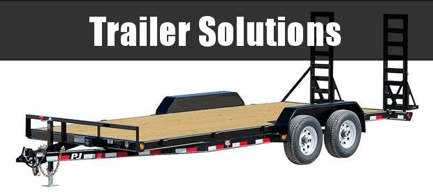 "2021 PJ 20' x 5"" Channel Equipment Trailer"