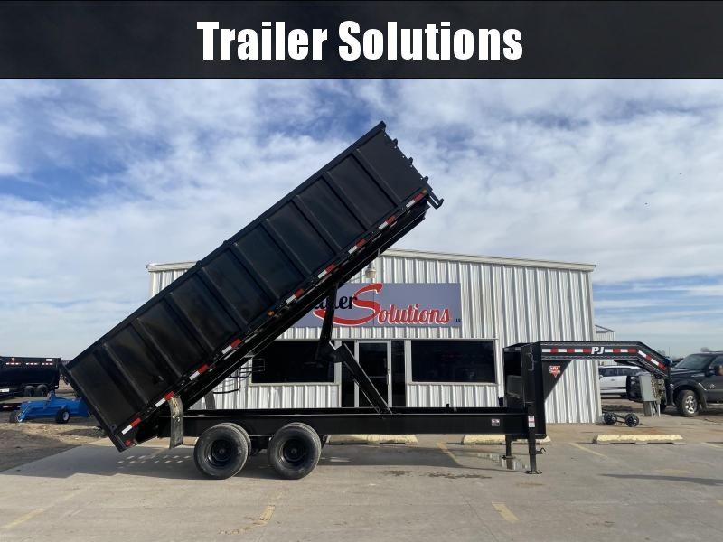 "2021 PJ 20' x 96"" Tandem Dual Dump Trailer"