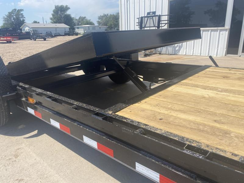 "2021 PJ 22' x 6"" Channel Equipment Tilt Trailer"
