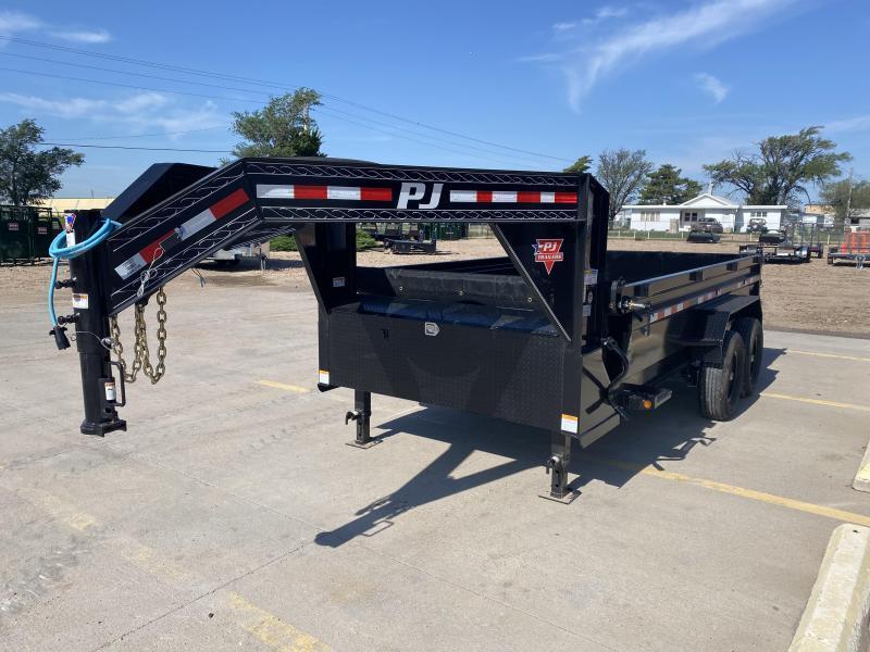 "2021 PJ 16' x 83"" Low Pro Dump Trailer"