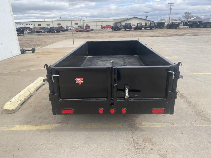 "2021 PJ 10' x 60"" Utility Dump Trailer"