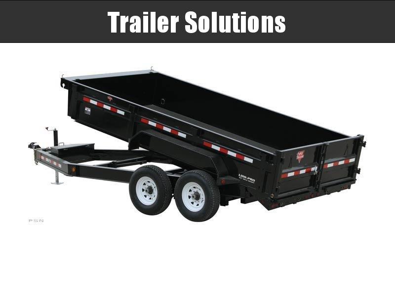 "2021 PJ 12' x 83"" Low Pro Dump Trailers"