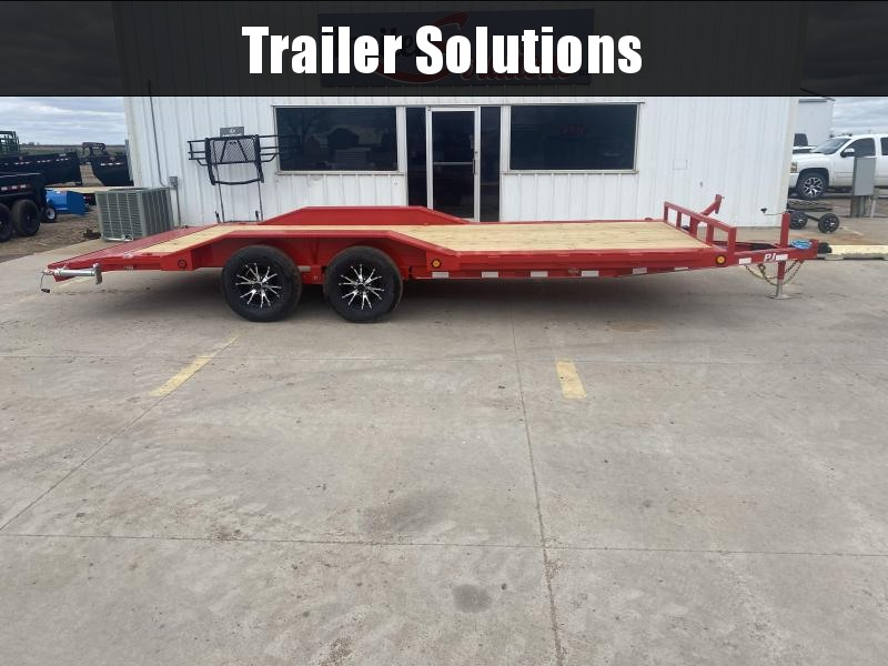 "2021 PJ 20' x 83"" with 5"" Channel Buggy Hauler Trailer"