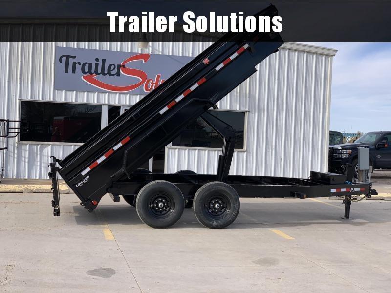 "2021 PJ 14'x 83"" Low Pro Dump Trailer"