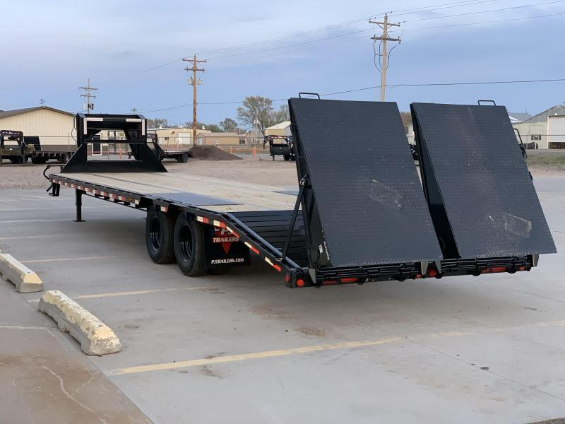 "2021 PJ 32' x 102"" Low Pro Flatdeck with Duals Trailer"