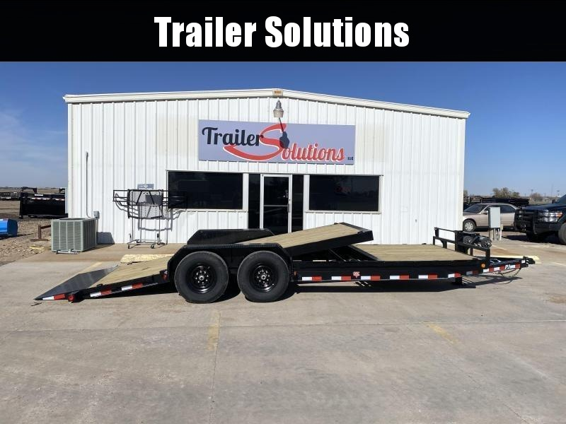 "2021 PJ 22' x 83"" with 6"" Channel Equipment Tilt Trailer"