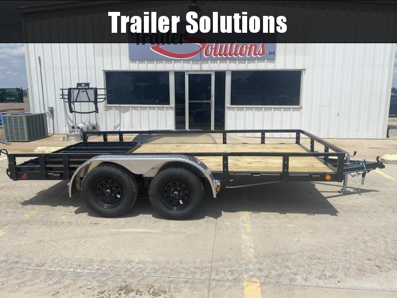 "2021 PJ 14' x 83"" Tandem Axle Channel Utility Trailer"