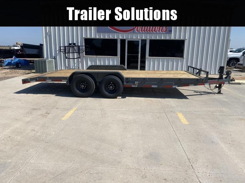 "2021 Buckshot 20' X 83"" Car Hauler/ Equipment Trailer"