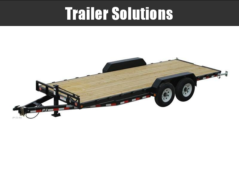 "2021 PJ 22' x 83"" with 6"" Channel Equipment Trailer"