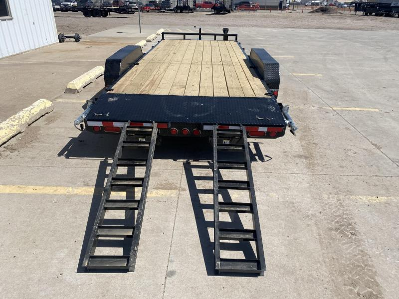 "2022 PJ 20' x 83"" with 5"" Channel Equipment Trailer"