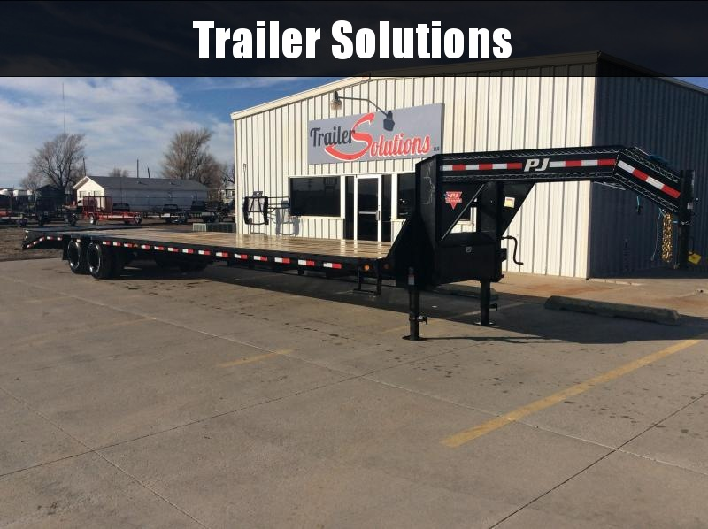 "2021 PJ 40' x 102"" Low Pro Flatdeck with Duals Trailer"