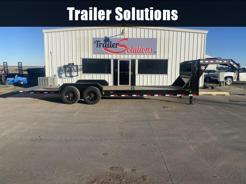 "2021 PJ 24' HD Equipment Tilt 6"" Channel Trailer"