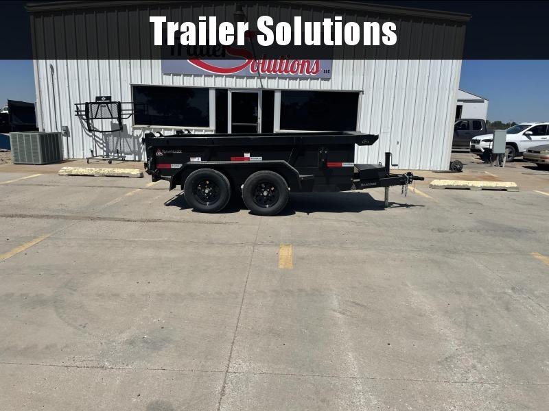 """2022 RawMaxx 10' x 60"""" Dump Trailer"""