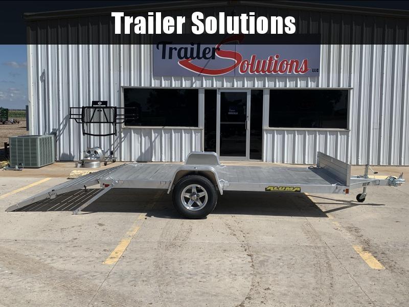 2021 Aluma 8112 Utility Trailer