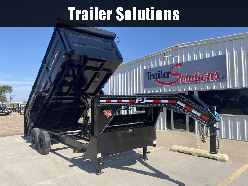 "2021 PJ 16' x 83"" Low Pro High Side Dump Trailer"