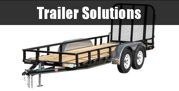 "2021 PJ 10' x 60"" Tandem Axle Channel Utility Trailer"
