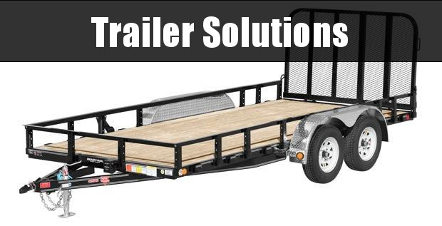 "2021 PJ 20' x 83"" Tandem Axle Channel Utility Trailer"