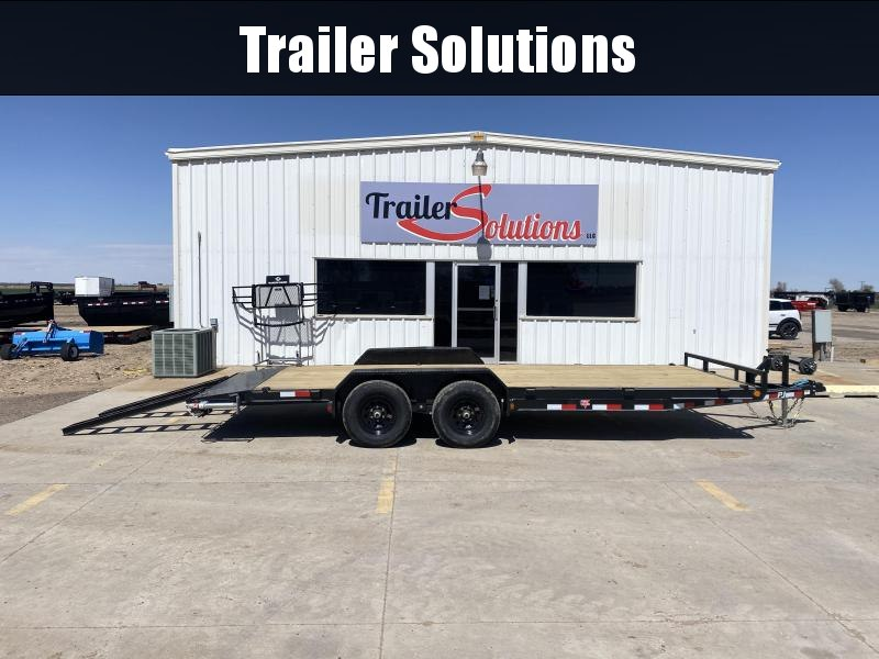 "2021 PJ 20' x 83"" with 5"" Channel Equipment Trailer"