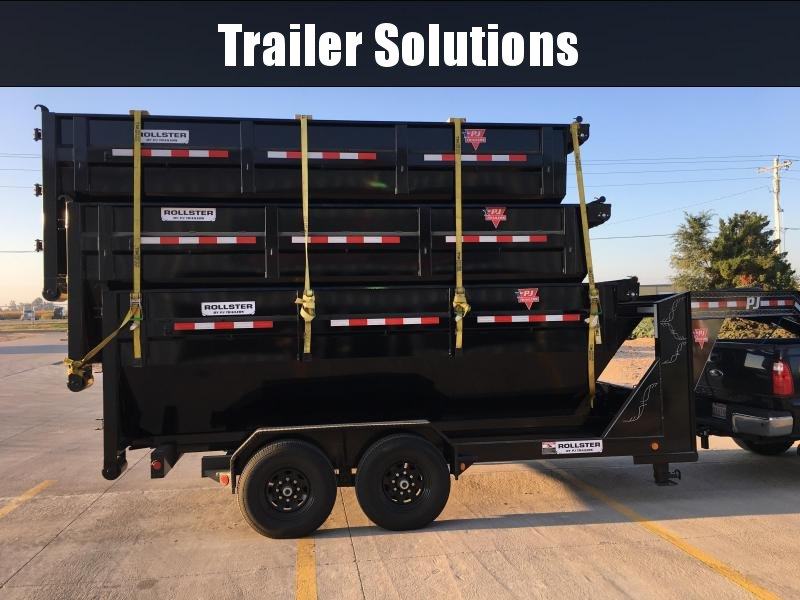 2021 PJ 14' Rollster Roll Off Dump Trailer