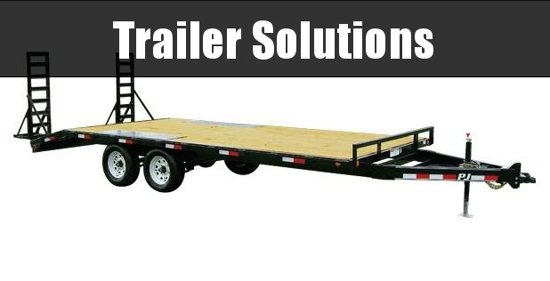 "2021 PJ 20'  Med. Duty Deckover 6"" Channel Trailer"