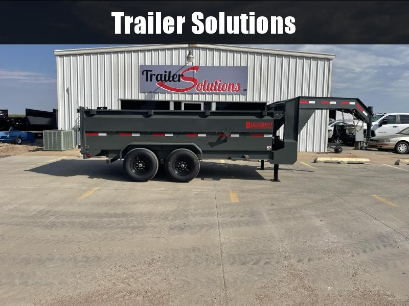 "2022 Buckshot 14' X 83"" Dump Trailer (36"" High Sides)"
