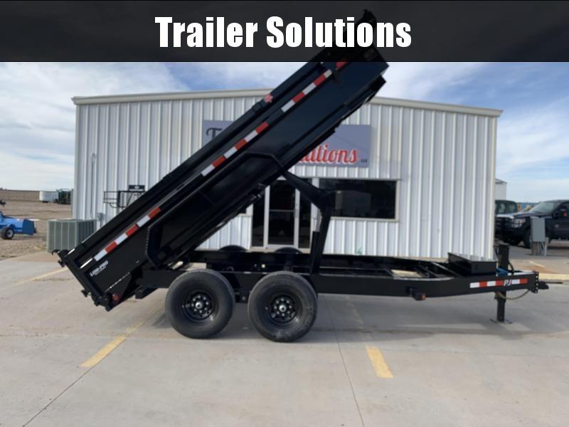 "2022 PJ 12' x 83"" Low Pro Dump Trailer"