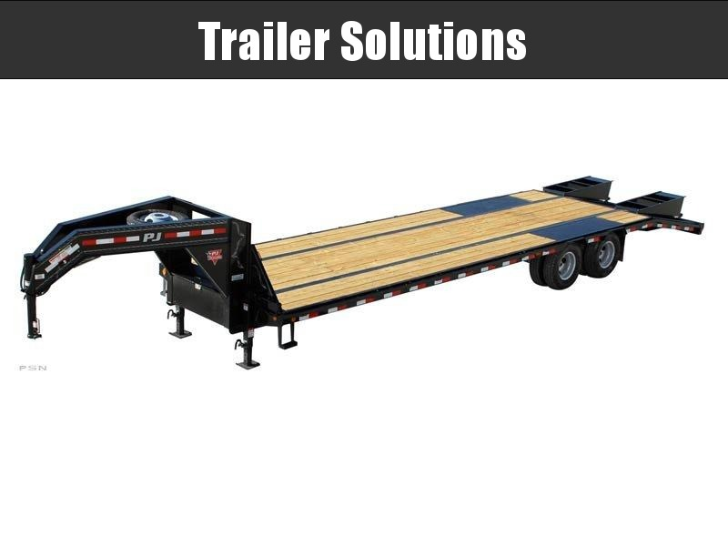 2021 PJ 32' Low Pro Flatdeck with Duals Trailer